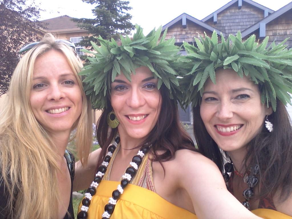 Aloha! Pearls of Polynesia Hula Dancers Group Shot